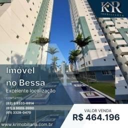 Título do anúncio: Apartamento com 3 dormitórios à venda, 79 m² por R$ 464.196,00 - Bessa - João Pessoa/PB