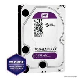 Hd purple 4TB Funciona 24/7 Horas Novo