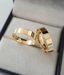Alianças De Casamento/Noivado ( Moeda Antiga)