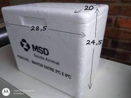 Kit Caixa de Isopor 8l + 2 Gelo Gel