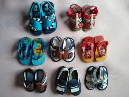 Sapatinhos e Sandálias para bebê até 1 ano e 6 meses