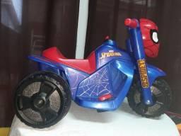 Mini moto elétrica HOMEM-ARANHA