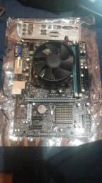 Kit Corei3 3240 3.4Ghz + 4Gbs 1600mhz + Placa mãe Kronus 1155