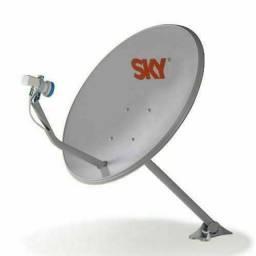 Título do anúncio: Antena Sky
