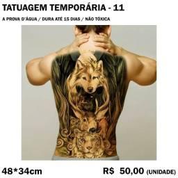Tatuagem Temporária - Fauna