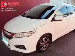 Título do anúncio: 2015 | Honda City EXL 1.5 Flex (Aut.) (Couro) / Completo / Periciado / Placa A