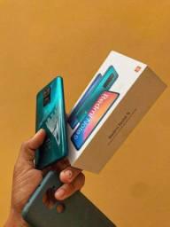 Celular Redmi Note 9, 128g + Fone Airdots Redmi + Película de Cerâmica + 6 Capinhas