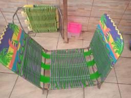 Cadeira espreguiçadeira usada