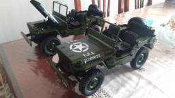 Jeep Willys controle remoto