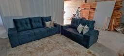 Título do anúncio: Jogo de sofá 2 e 3 lugares