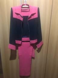 Conjunto calça e casaco
