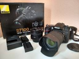 Camera Nikon D7100 + 18-105mm + 50mm