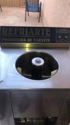 Produtora de sorvete marca Refriarte