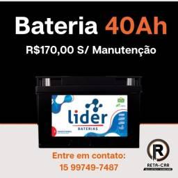 Título do anúncio: Bateria 40 ah disk entrega Sorocaba