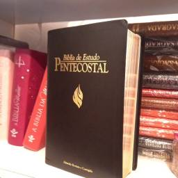 Bíblia Do Pregador Pentecostal Capa Luxo Média Arc Cor Preta