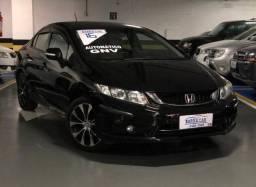 Honda Civic LXR Top De Linha Gnv 5º Único Dono Revisado Impecável IPVA 2021 Vistoriado