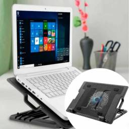 Suporte Base P/ Notebook Cooler E Iluminação Kp-9013