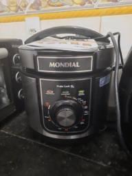 Panela de Pressão Elétrica Mondial PE-48 Pratic Cook 5L - Inox