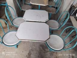 Mesa para lanchonetes