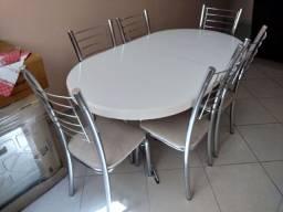 Imperdível Conjunto mesa com 6 cadeiras