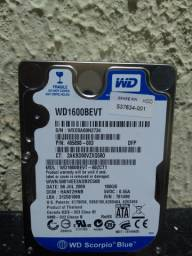 HD Western Digital 160gb notebook