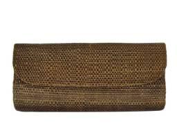 Clutch de palha de buriti.