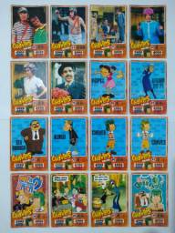 CARDS DO CHAVES, MINIONS, BEN 10, STAR WARS, MARVEL, TRANSFORMERS, LEGO, MINECRAFT.