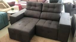 Sofá Retrátil e reclinável 200x100