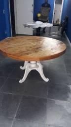 Mesa madeira construcao