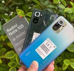 Título do anúncio: Note 10S Azul/Preto 6+64Gb Índia