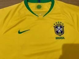 Camisa Oficial Seleção Brasileira Copa 2018.