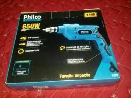 Furadeira elétrica de impacto da Philco*nova*na caixa!