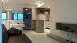 Apartamento mobiliado 1 quarto em Cabo Branco - Com Internet
