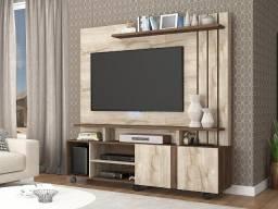 """Home Valência para TV de até 52"""" - (AxL) 182,5x160,3 cm"""