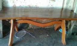 Mesa de tronco de arvote