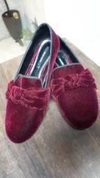 Sapato Zara camurça