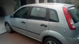 Fiesta hatch 2007/08 1.0 cc 4 portas cor prata 2º dono - 2007