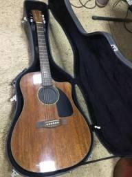 Violão Fender CD60 + Case Fender