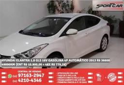 Hyndai elantra branco 1.8 gls gasolina automático 2013 R$ 36.645 49099KM - 2013