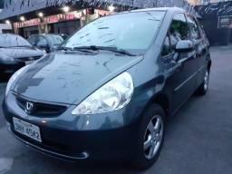 Honda Fit Cinza Completo Automático - Financie Fácil - 2005