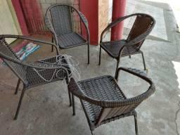 Cadeiras de fibras sintética original