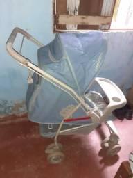 Bebê conforto e Carrinho Galzerano