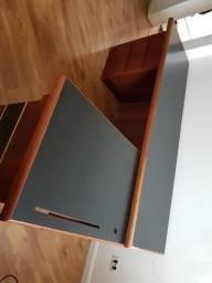 Mesa escritorio em mogno
