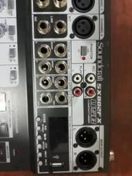 Vendo esta mesa de som soundcraft Selenium pra hoje