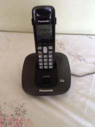 Telefone S/Fio - Panasonic - ID de Chamadas - Viva Voz - Pilhas Recarregáveis