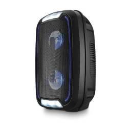 Caixa de som Mini Torre Amplificadora 200W Rms Bluetooth - Multilaser SP336