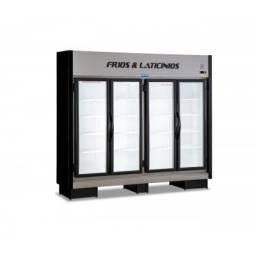 Expositor 4 portas frios e laticinios novo- *