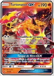 Carta Pokémon Tortunator GX