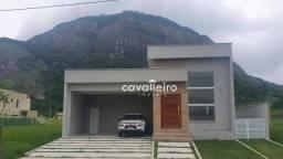 R$600.000 - Casa com 3 Quartos e Área Gourmet no Alphaville Maricá /RJ