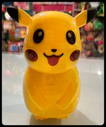 Caixa De Som Pikachu Pokemon Bluetooth Usb E Radio Fm
